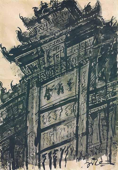 Art Exhibition Thailand China Relations, Chiangrai-Chengdu by Somluk Pantiboo...